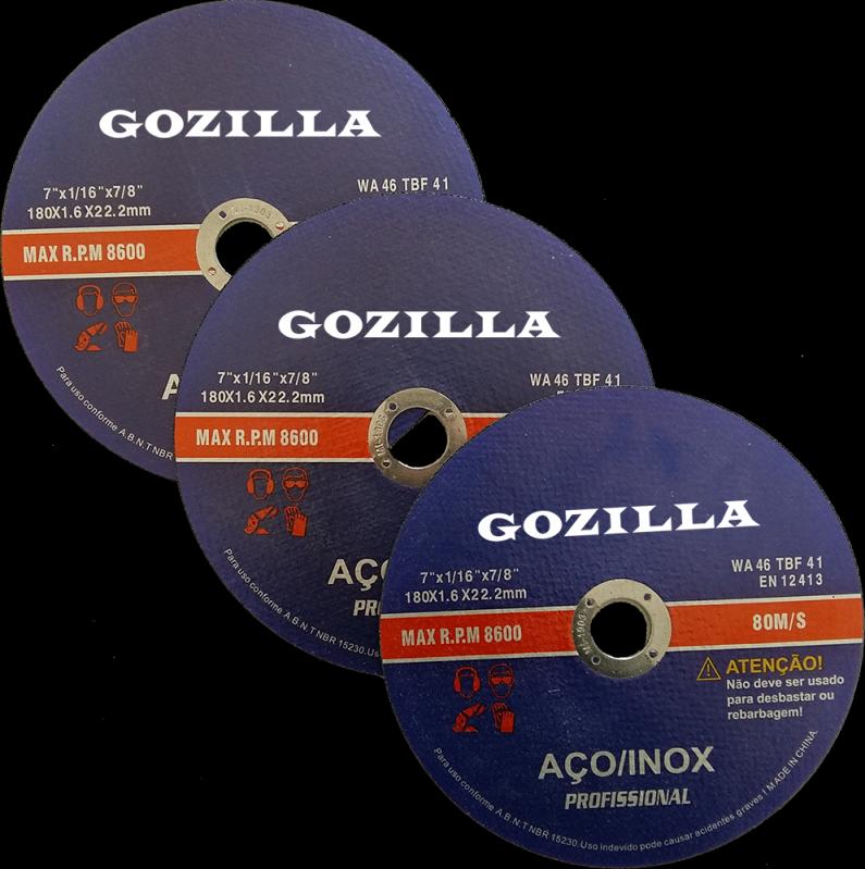 Disco de Corte Abrasivo Valor Brusque - Disco de Corte para Acrílico