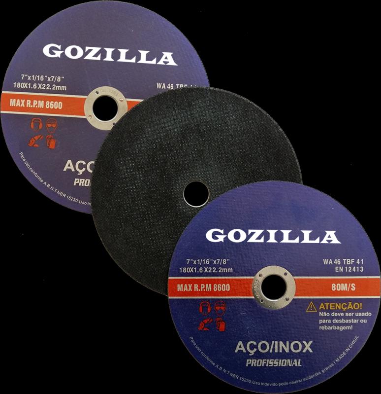 Disco de Corte Inox 125 Mm Valor Senador Canedo - Disco de Corte Acrílico