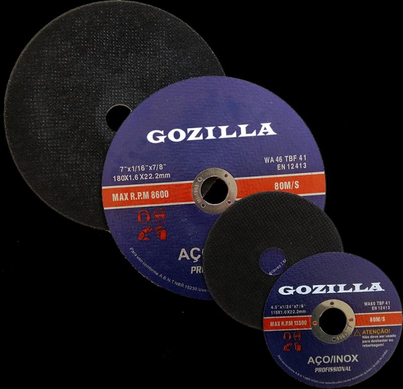 Disco de Corte Inox Valor Goiatuba - Disco de Desbaste