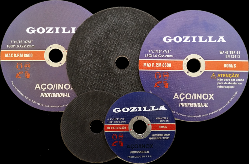 Discos de Corte Abrasivo Santa Cruz do Capibaribe - Disco de Corte Abrasivo