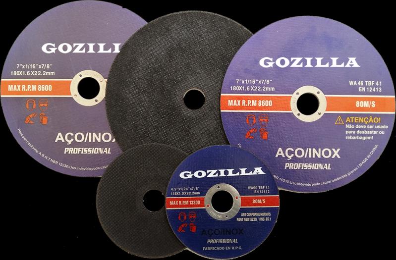 Discos de Corte Abrasivo Águas Lindas de Goiás - Disco de Corte a Seco
