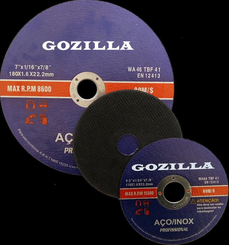 Discos de Corte Inox 125 Mm Indaiatuba - Disco de Corte Inox 125 Mm