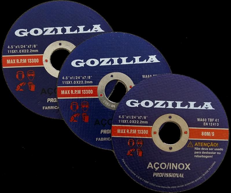 Discos de Corte Inox Mineiros - Disco de Corte Madeira