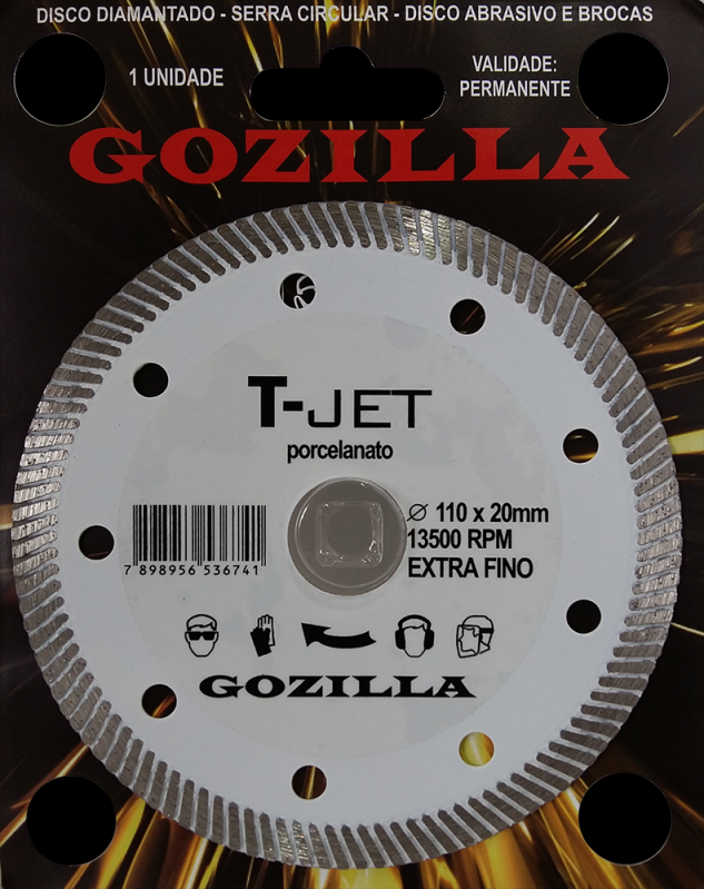 Discos Diamantados de Corte Presidente Prudente - Disco Diamantado 230mm