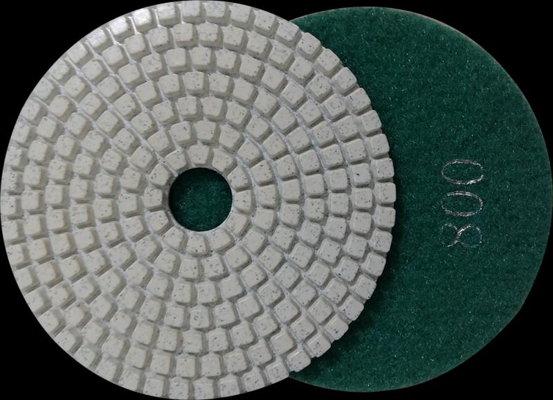 Lixas Diamantadas 125mm Goiana - Lixa Brilho Seco
