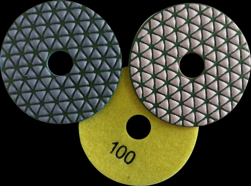 Lixas Diamantadas para Mármore Carandiru - Lixa Brilho Seco