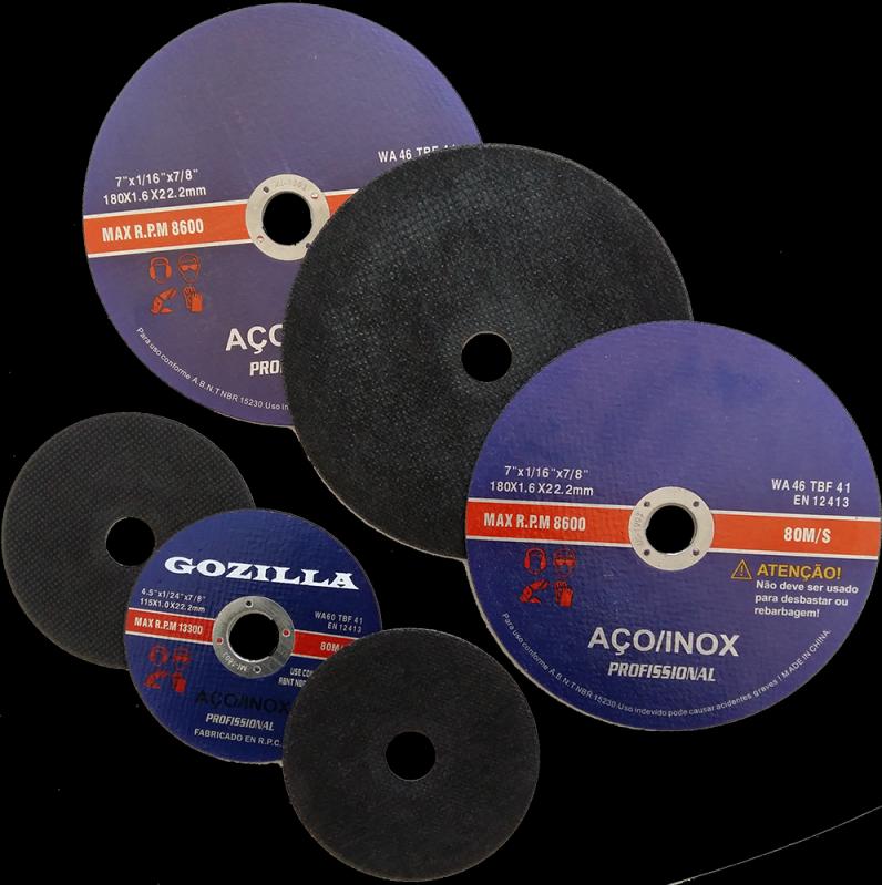Loja para Comprar Disco de Corte Inox Uberaba - Disco de Corte a Seco