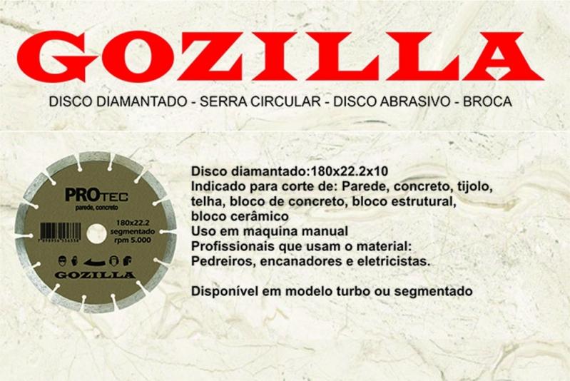 Onde Comprar Disco Diamantado 7 Polegadas Catalão - Disco Diamantado 230mm