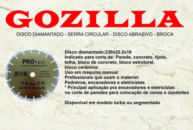 Onde Comprar Disco Diamantado de 9 Polegadas Joinville - Disco Diamantado 230mm