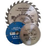 fornecedor de disco de corte para madeira Inhumas